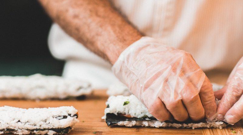 type riz sushi